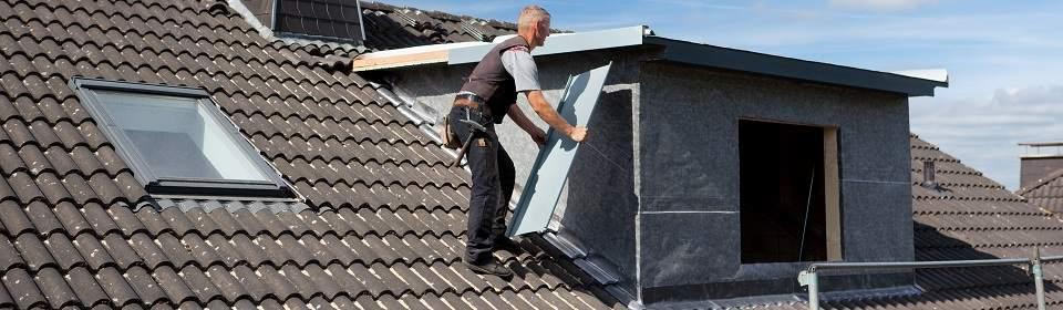 isolatie van een dakkapel